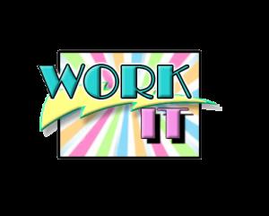 work it logo transparent