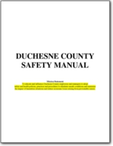 Duchesne_County_Safety_Manual_2012.10.15