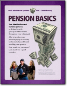 Pension Basics: Tier 1 Contributory