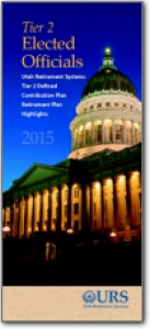 Tier 2 Elected Officials Defined Contribution Plan Retirement Plan Highlights 2015